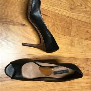 Ann Tailor heels - leather upper, lining and sole